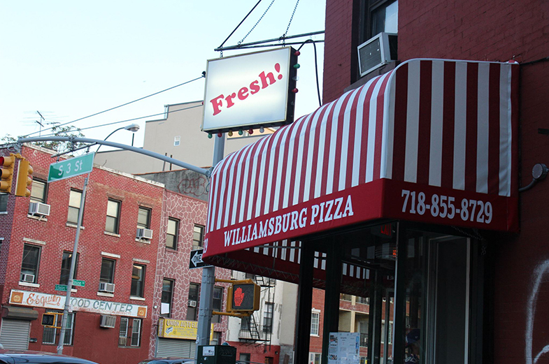 WILLIAMSBURG PIZZA