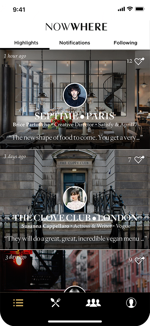 The must-have restaurant app for creatives