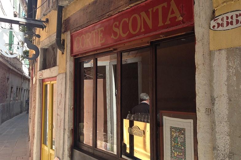 CORTE SCONTA