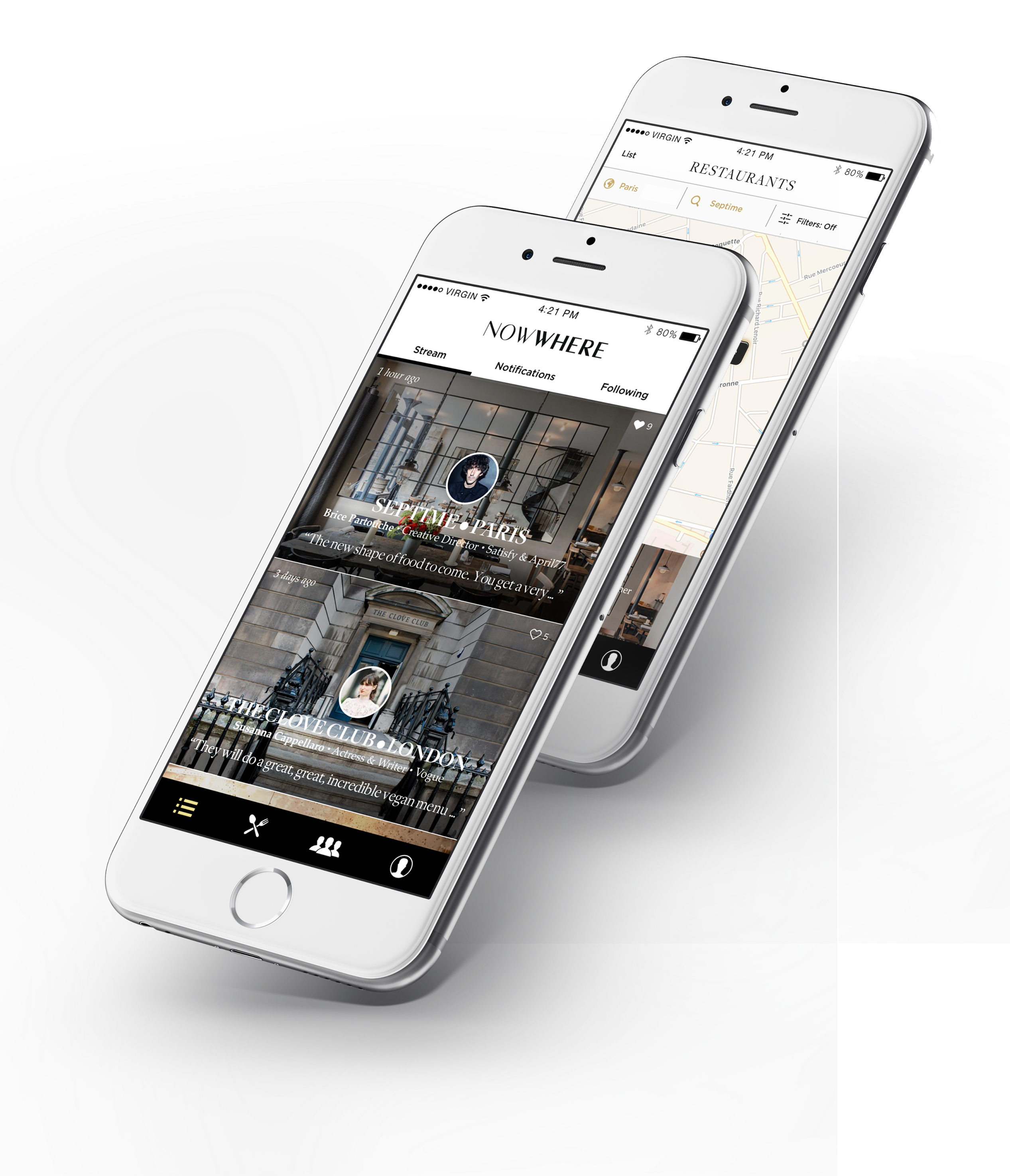 Restaurant App for Creatives